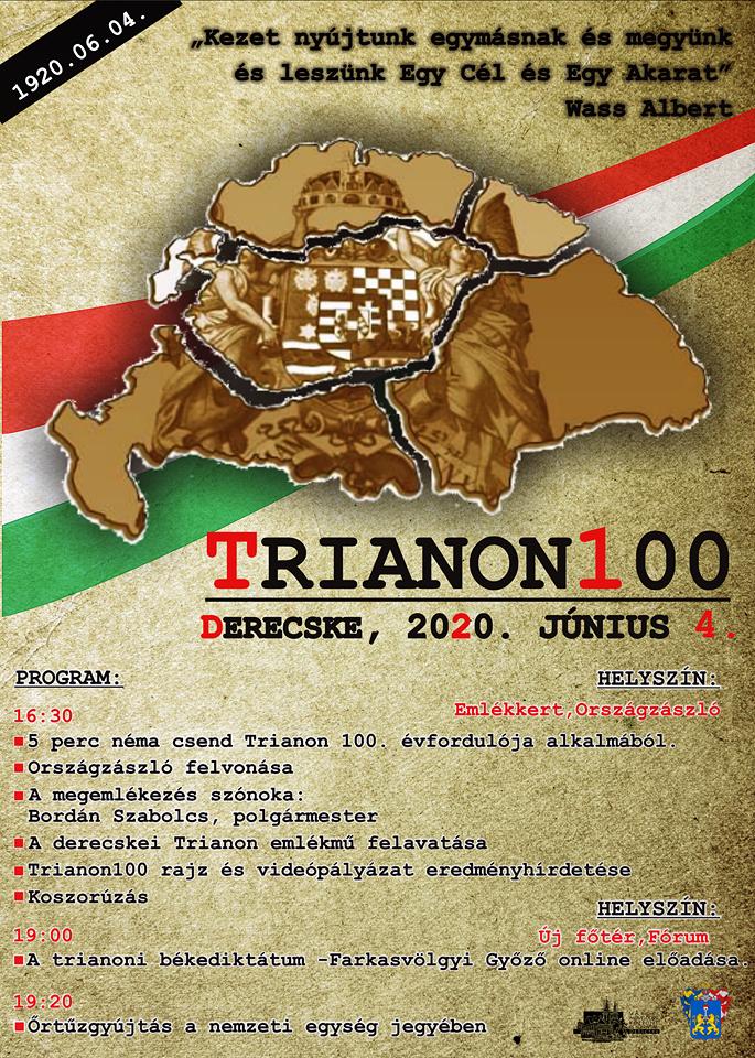 Trianoni megemlékezés 2020. június 4.