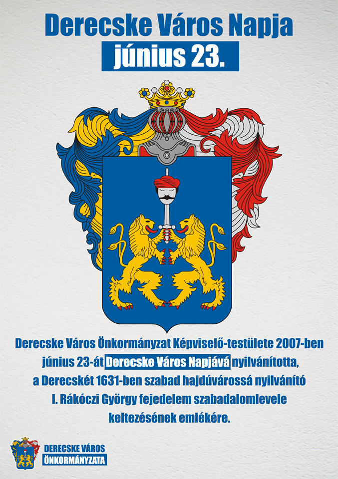 Derecske Város Napja-2020. június 23.