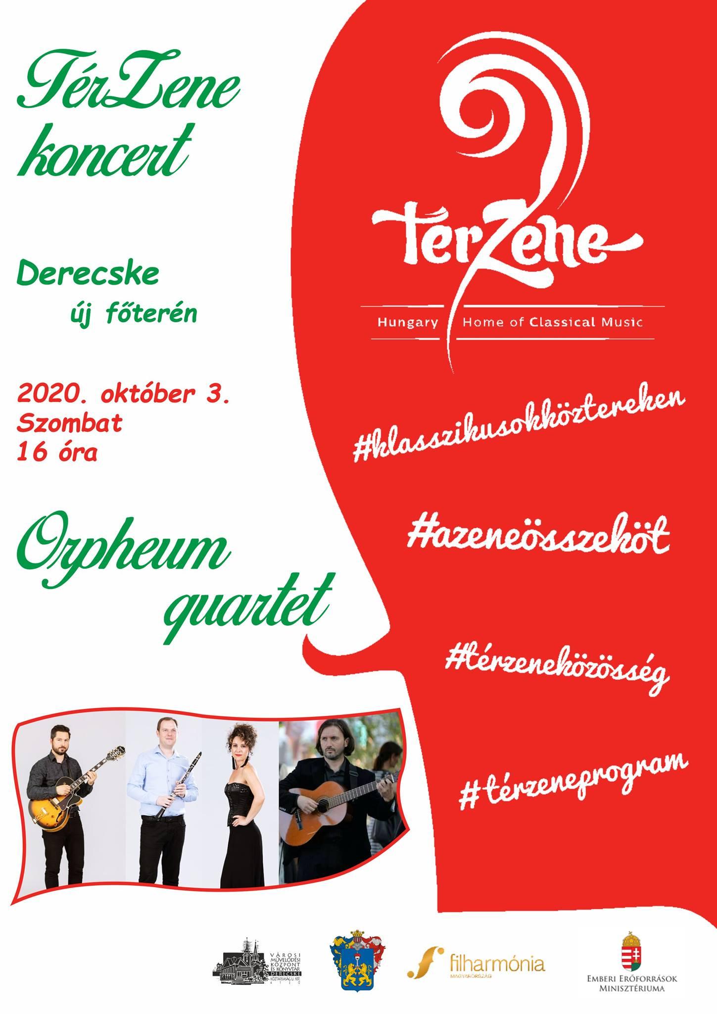 Térzene koncert 2020. október 3.
