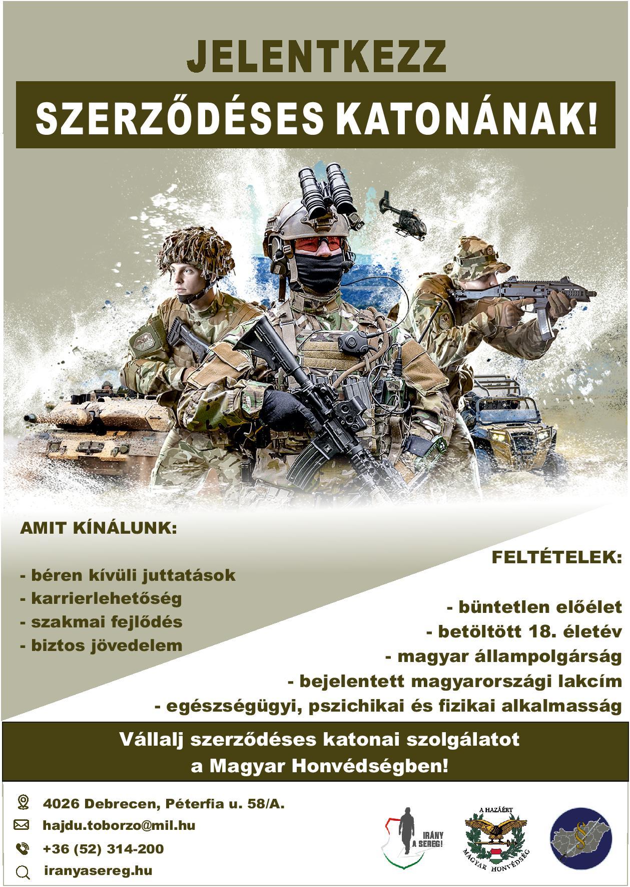 Katonai toborzás (2021. február 03.)