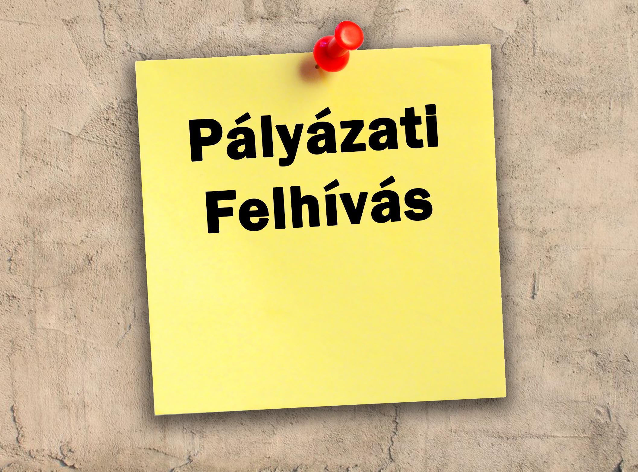 Pályázati felhívás-Derecske, Semmelweis u. 26.