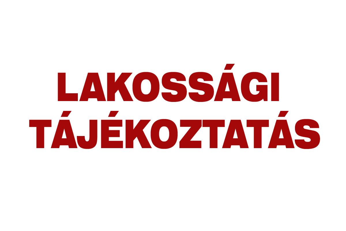 Tájékoztatás (2021. szeptember 03.)