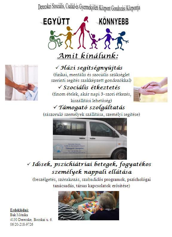 Derecskei Szociális, Család-és Gyermekjóléti Központ