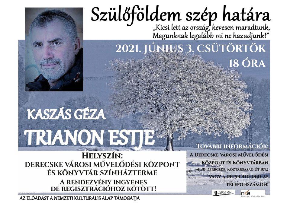 Kaszás Géza Trianon estje