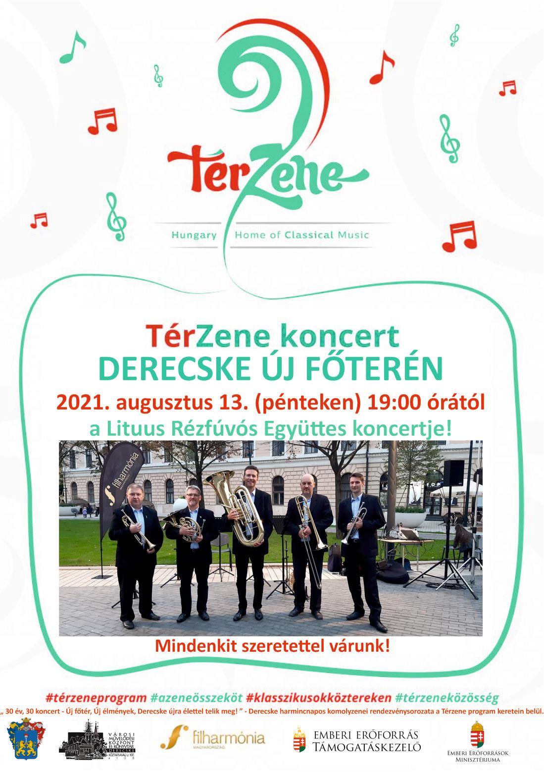 Térzene koncert-Lituus Rézfúvós Együttes