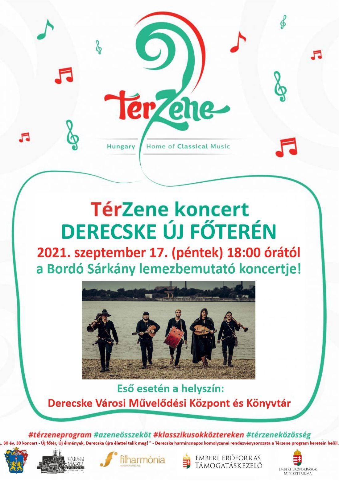 Térzene-Bordó Sárkány koncert