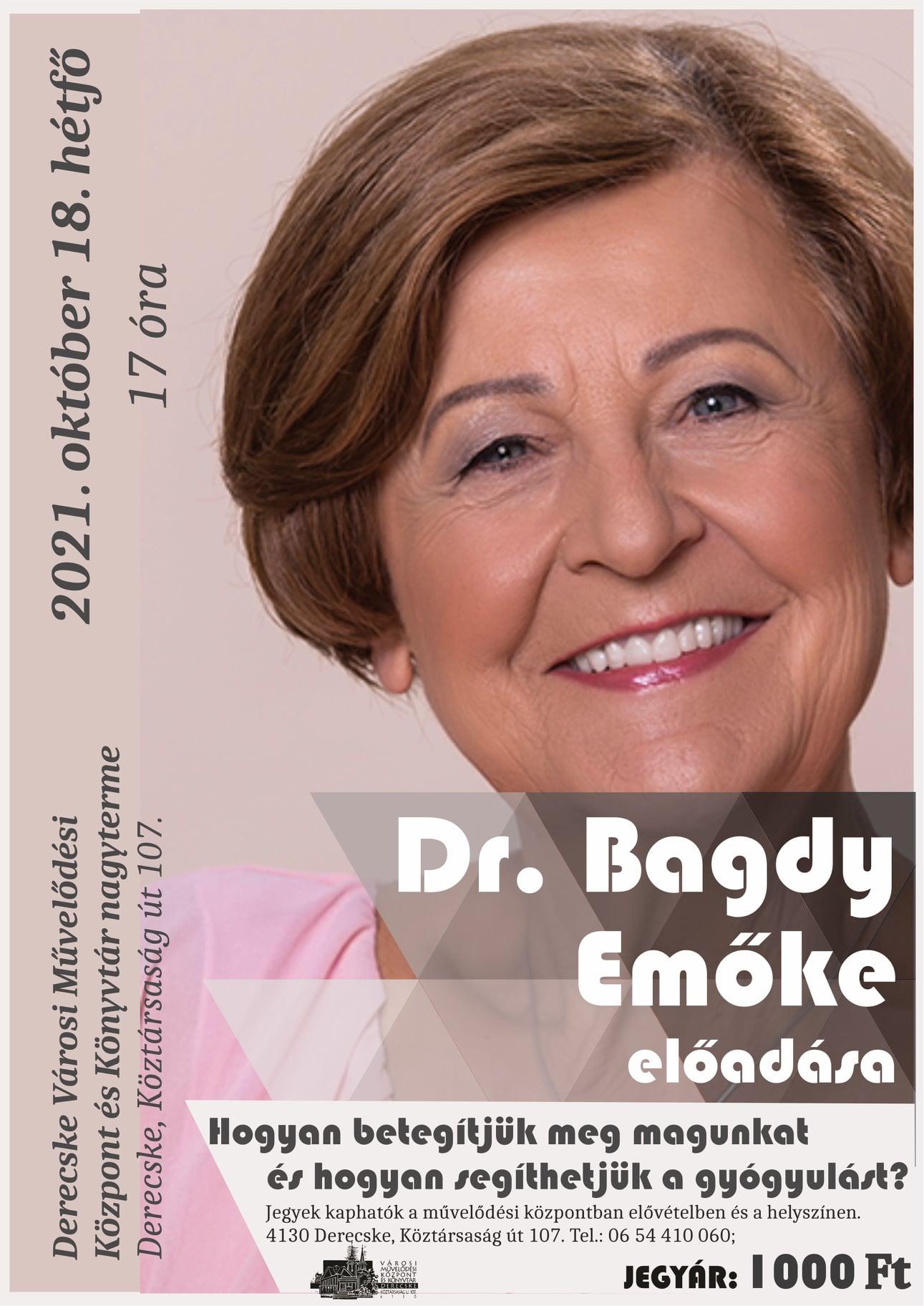 Dr. Bagdy Emőke előadása